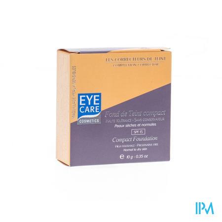 Eye Care Fond de Teint Compact Beige Naturel Normale-Droge Huid 10 g