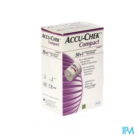 Accu-Chek Compact Strips Glucose 51 stuks