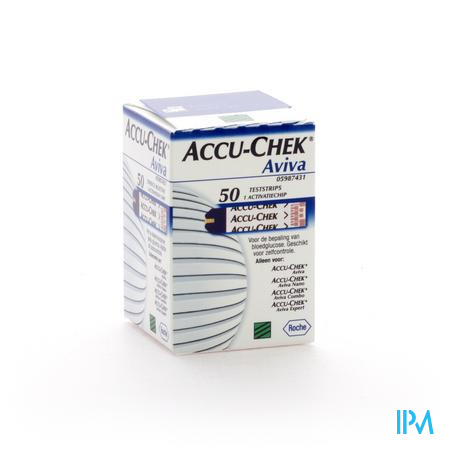 Accu-Chek Aviva Teststroken 50 stuks