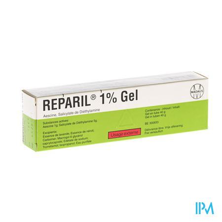 Farmawebshop - REPARIL GEL 1% 40 G