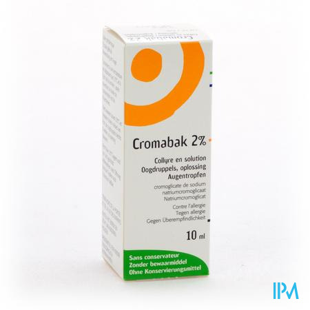 Cromabak Collyre 2% 10 ml