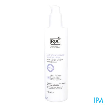 Roc Demaquillant Lait Multi-actions 400 ml