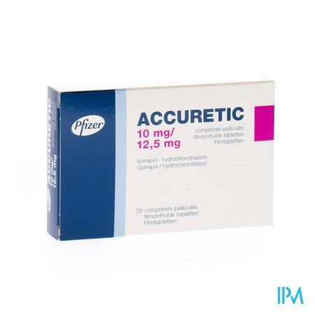 Accuretic Comp 28x10mg/12,5mg