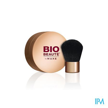 Afbeelding Nuxe Bio Beauté Minerale Poederfoundation Tint Amberkleurige Karamel voor Alle Huidtypes 4 g.