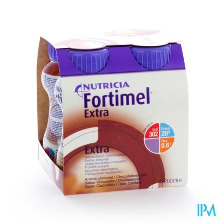 Fortimel Extra Chocolat 4 x 200 ml