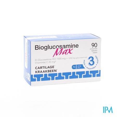 BioGlucosamine Max 1500mg 90 comprimés