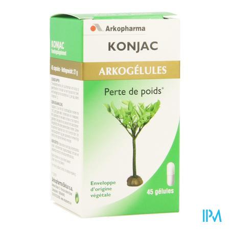 Arkogelules Konjac Vegetal 45