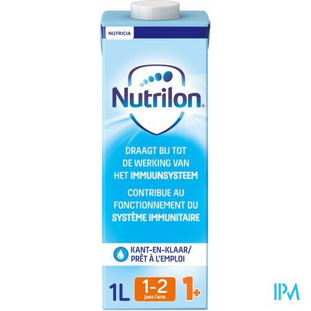Nutrilon 1+ vloeibaar 1L peuter groeimelk