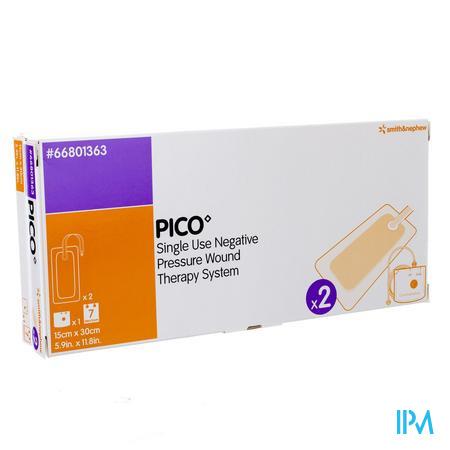 Pico Kp Steriel Siliconen 15x30cm 1x2 66801363