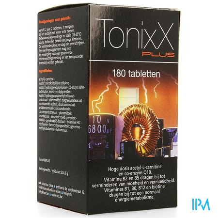 Tonixx Plus Comp 180x1270mg Nf