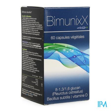 Bimunixx 49+ Caps 60