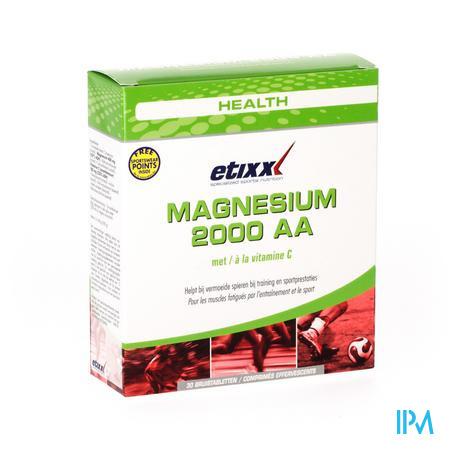 Etixx Magnesium 2000 AA 30 comprimés effervescents