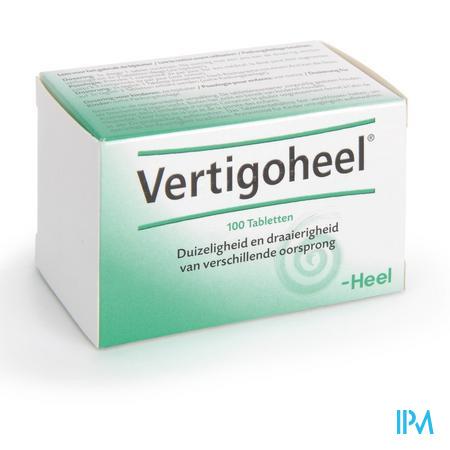 Afbeelding Vertigoheel 100 Tabletten .