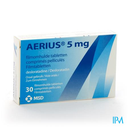 Aerius Comp 30 X 5mg