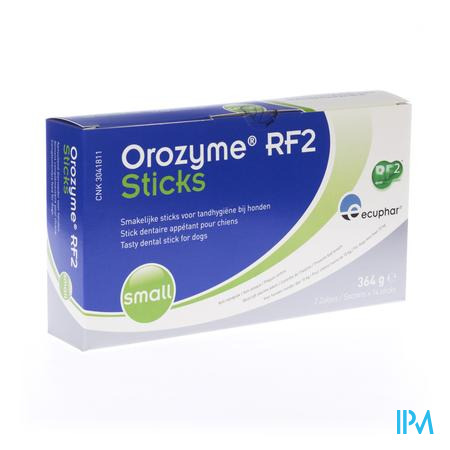 Orozyme Rf2 Sticks Small < 10 Kg 2x14 pi&egrave;ces