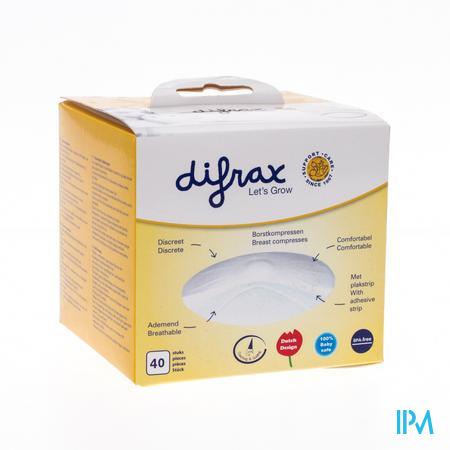 Difrax Btob Compresses 40 pièces