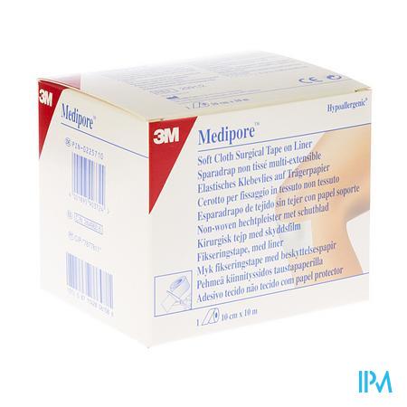 Medipore 3m Verband Elast Adhesive Rol 10cmx10m 1 2991p-2