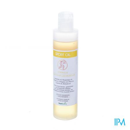 Soria sport oil (massageolie) 200 ml