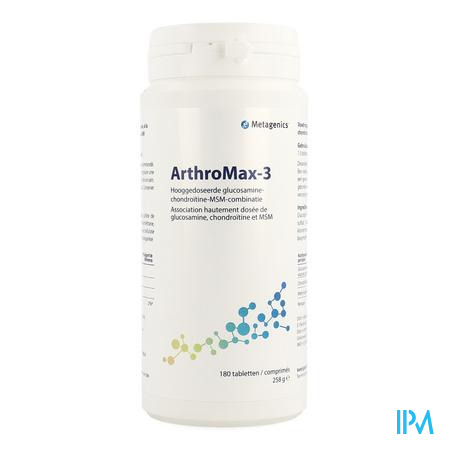Arthromax 3 Pot Tabletten 180 4345 Metagenics