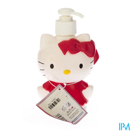 Hello Kitty Baby 2in1 Shampoo-Douche Bosaardbei 250 ml