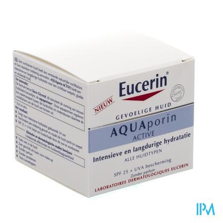Afbeelding Eucerin Aquaporin Alle huidtypes spf25 50ml NIEUW.
