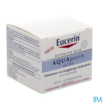Eucerin Aquaporin Active Verz. Hydra Ip25+uva 50ml
