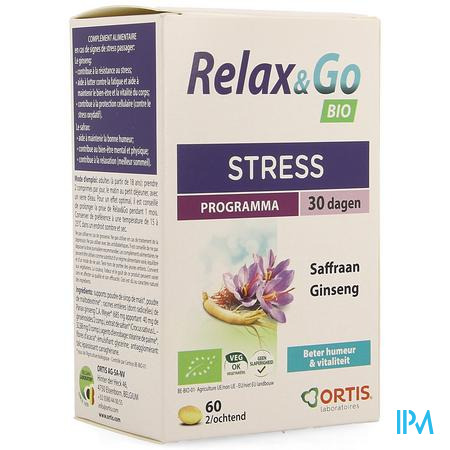 Ortis Relax&go Bio Comp 4x15
