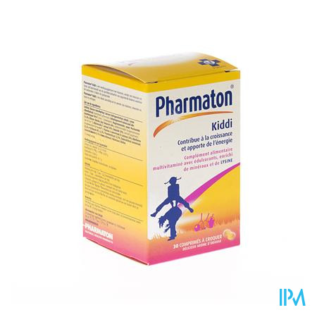 Pharmaton Kiddi Chew 30 comprimés à croquer