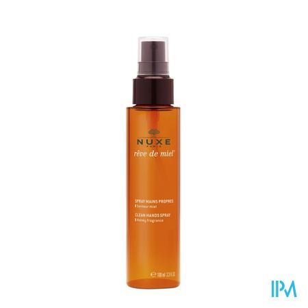 Afbeelding Nuxe Rêve de Miel Clean Hand Spray met Honinggeur 100 ml.
