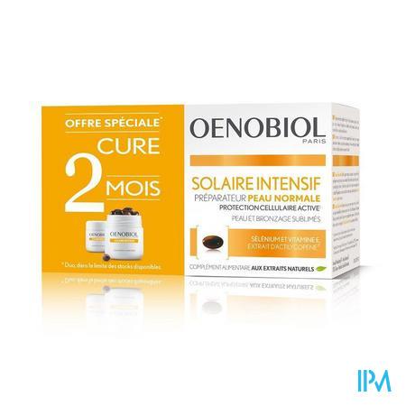 OENOBIOL SOLAIRE INTENSIF KUUR  NORMALE HUID 2X30 CAPS