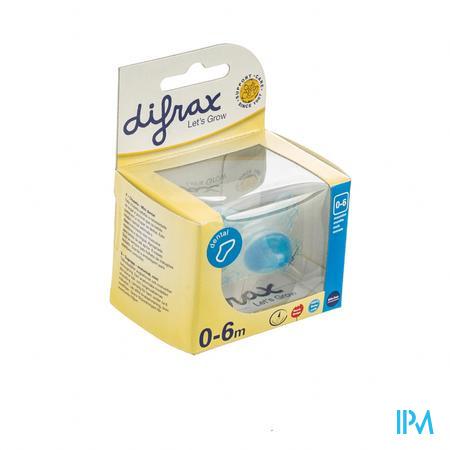 Difrax Fopspeen Dental Boy 0-6M 1 pièce