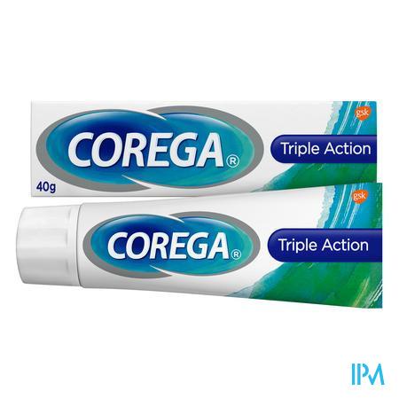 Corega Triple Active Kleefcr Tandprothese 40g