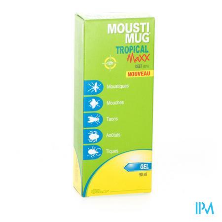 Moustimug Tropical Maxx 50 % Deet Gel 90 ml