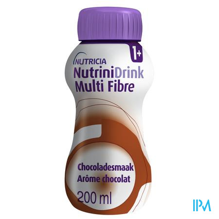 Nutrinidrink Chocolade Multi F.+12m Fl 200ml 65599