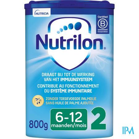 Nutrilon 2 Opvolgmelk baby vanaf 6 maanden poeder 800g