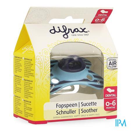 Difrax Sucette Silicone Mini-dental 0-6m 799