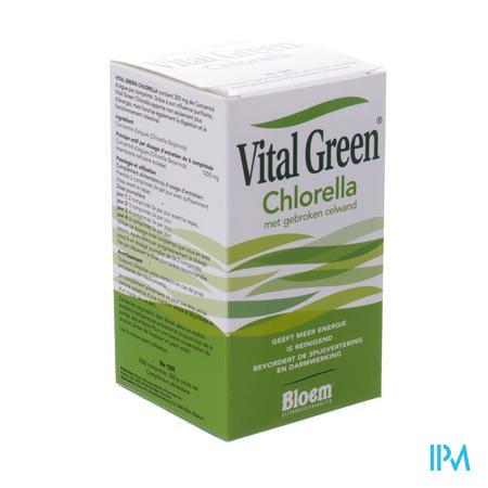 Vital Green Chlorella 1000 comprimés