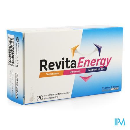 Afbeelding Revita Energy met Vitamines, Dextrose en Magnesium carb 20 Bruistabletten .