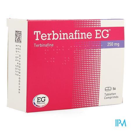 Terbinafine Eg 250mg Eg Tabl 56 X 250mg