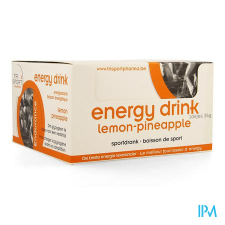 Trisportpharma Energy Drink Lemon-pineap.pdr12x34g