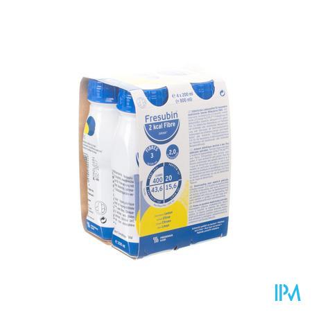 Fresubin 2kcal Fibre Drink Citron Easybot.4x200 ml