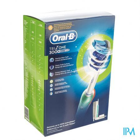 Oral B Professional Care 3000 Trizone Brosse À Dents Électrique 1 pièce