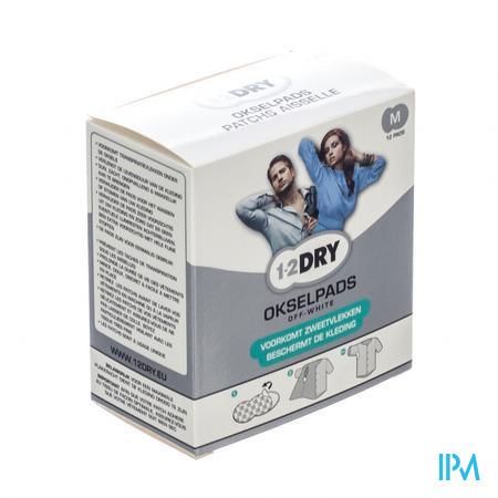 1-2DRY Okselpads Medium 12 stuks