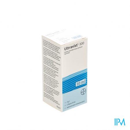Ultravist 300 Fl Inj 1 X 10ml