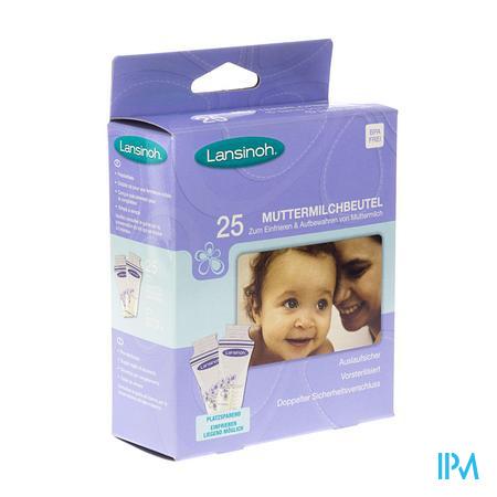 Lansinoh Moedermelk Bewaarzakjes 25 Stuks 25 stuks