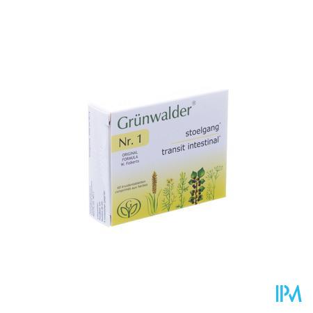 Grunwalder N1 Kruidentabletten 60