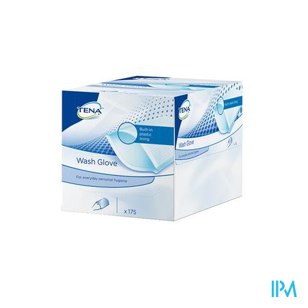 Tena Washglove With Plastic Lining 175 740500
