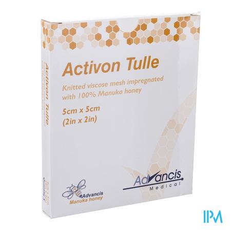 Activon Tulle Verband N/adh 5x 5cm 5