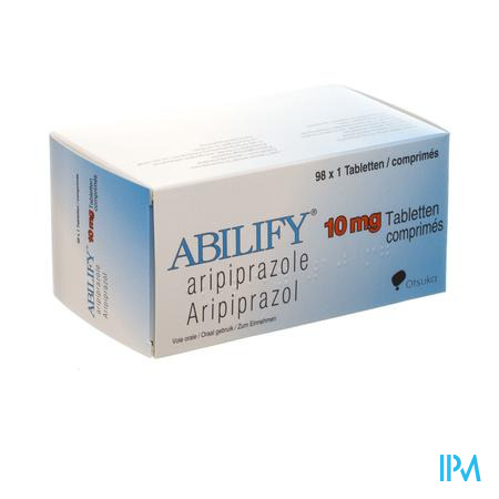 Abilify 10mg Comp 98 X 10mg