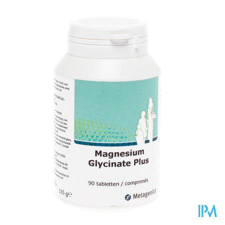 Magnesium Glycinate Plus 90 comprimés